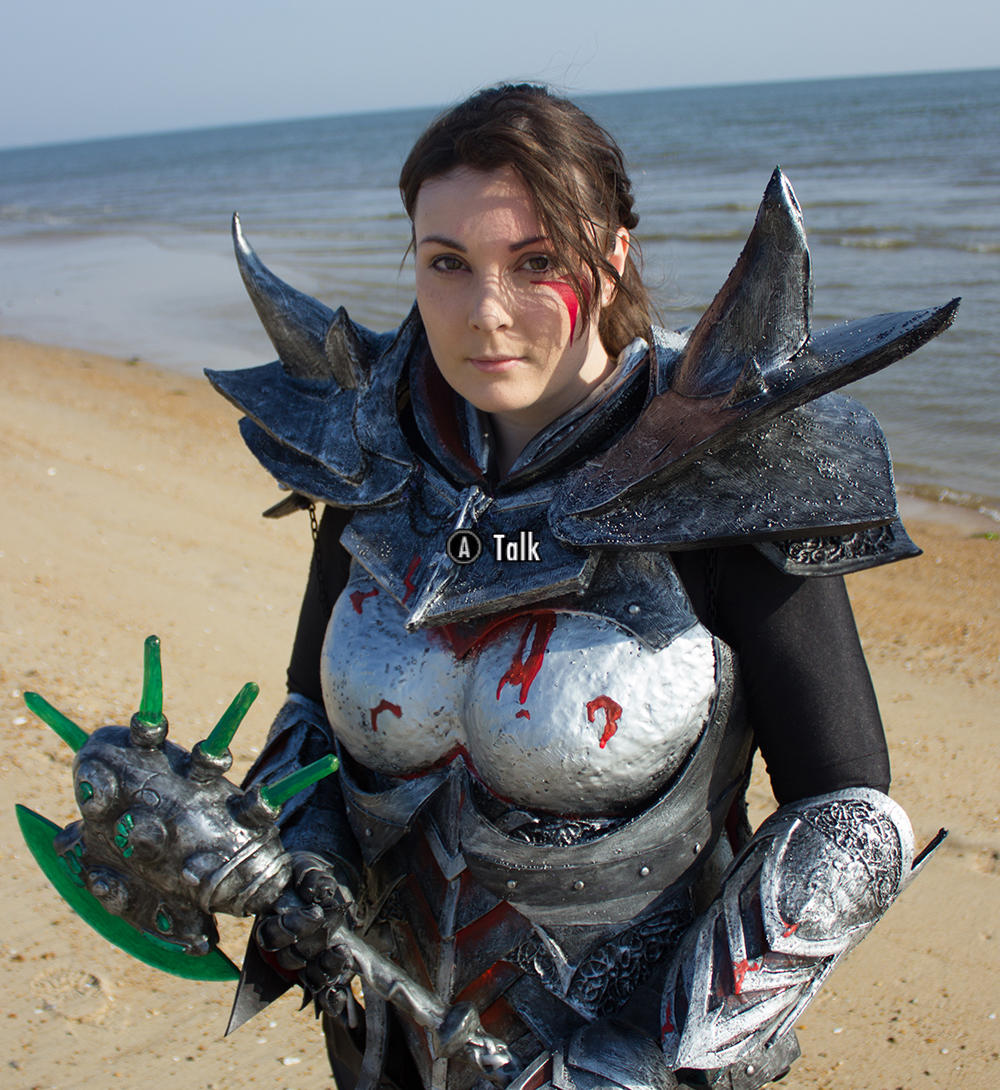 Dragonborn close-up by vampurity-stock