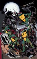 Cowabunga! Teenage Mutant Ninja Turtles by briandyck