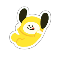 BT21 Chimmy Sticker by baebwi