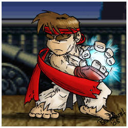 SF2 Fanart - Ryu by benhaith
