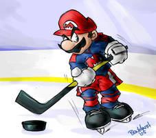 Mario Hockey by benhaith