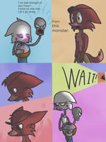 Fnaf silly comic - Foxys Pride part 16 by Maria-Ben