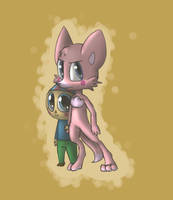 Foxina and bb by Maria-Ben