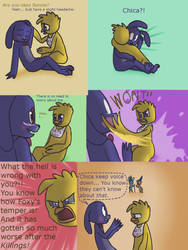 Fnaf silly comic - Foxys Pride part 23 by Maria-Ben