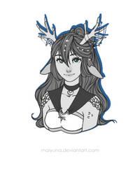 [C] :: Mythic Moonstone Kirin by Maiyuna