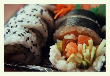 sushi by Julanna
