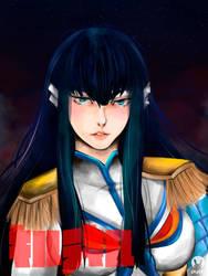 Satsuki Kiryuin by PrincessTeppelin