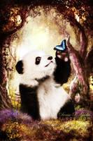 Hi-Fi Panda by DeniseGarbis
