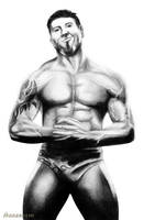 Dave 'The Animal' Batista by hohenheim54