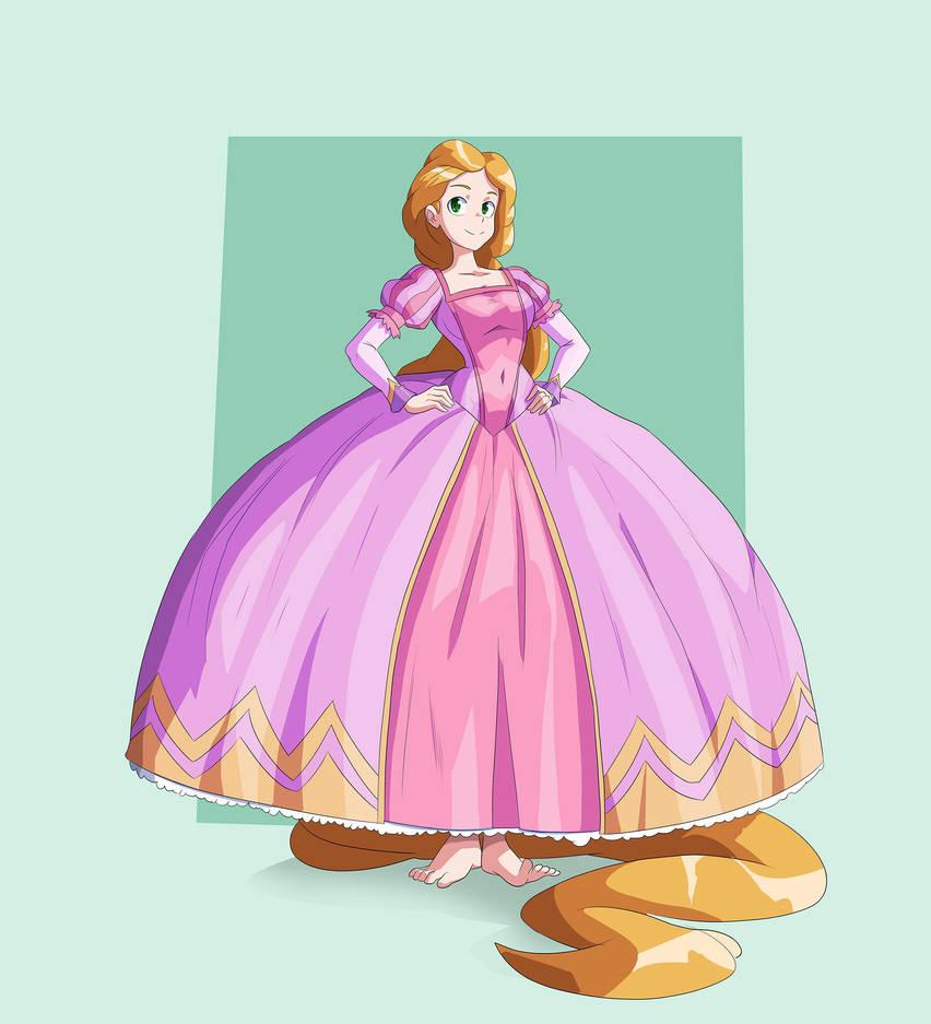 [Commission for MinervaBlackwald] Rapunzel II by JulianVanist