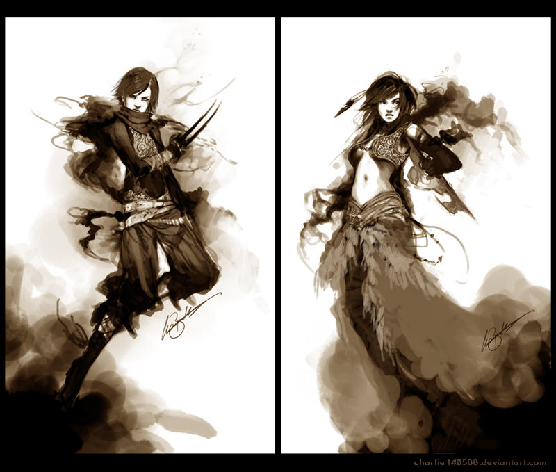 .: Speeds I :. by Charlie-Bowater