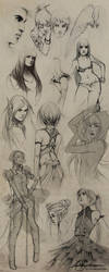 Sketches VIII by Charlie-Bowater