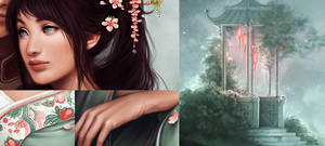 Zuko + Toph: details by Charlie-Bowater