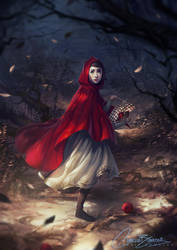 Little Red by Charlie-Bowater