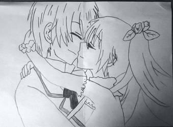 Hatsune Miku And Kaito :D by rafcio97