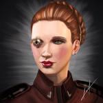 EVE Online - Portrait by Callyste