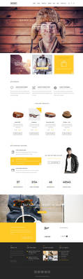 Invory - Multi Purpose PSD Template by KL-Webmedia