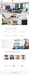 Teclus - Architecture PSD Template by KL-Webmedia
