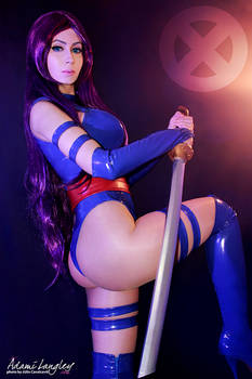 Psylocke Cosplay by adami-langley