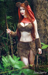 Ewok cosplay by adami-langley
