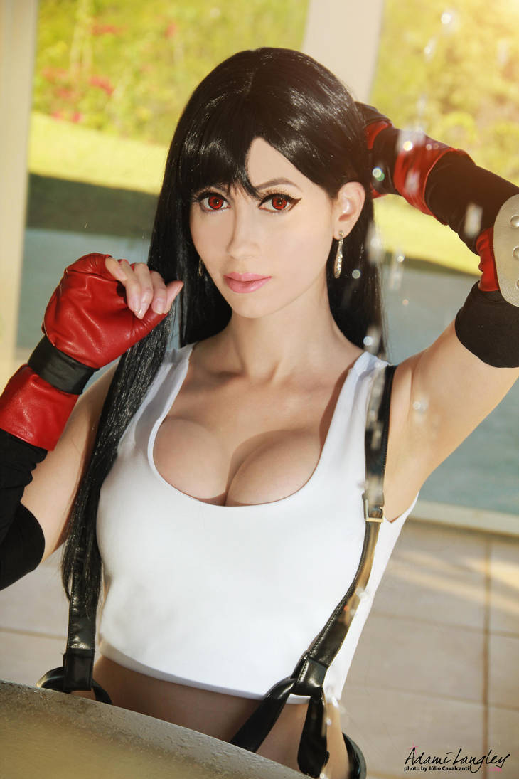 Tifa Lockhart cosplay by adami-langley