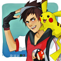 Let's Go Get'em Pikachu! by Bev-Nap
