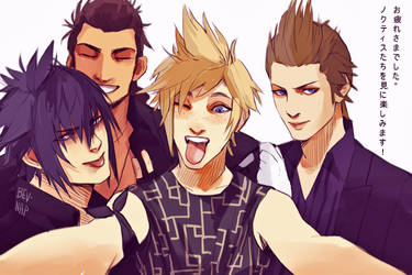 FFXV IS RELEASED IN 3 DAYS!!! by Bev-Nap