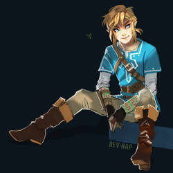 Link just Chillin by Bev-Nap