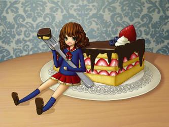 Cake-Chan by Sun-like-Rain