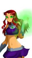 Starfire Teen titans by Teentitanstarfire11