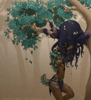 Poulpe arboricole by citron-bleu