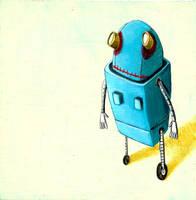 Joe Robot by startattookid
