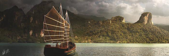 The secret island by campanoo