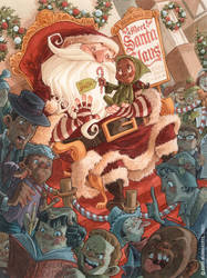 Department Store Santa by RobbVision