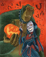 Vampire and ThunderApe by RobbVision
