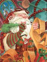 Santa's Workshop by RobbVision
