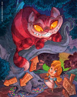 Cheshire Cat by RobbVision