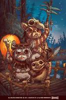 Ewoks by RobbVision
