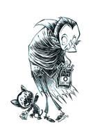 Inktober Dracula by RobbVision