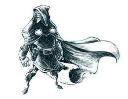Inktober Doctor Doom by RobbVision