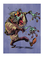 I Hate Zombies: Hero Zombie by RobbVision