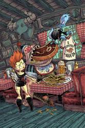 Dead Duck Machoman Steakhouse Challenge by RobbVision