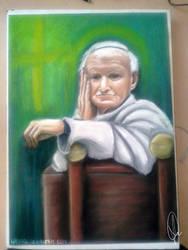 Pope John Paul II by wasipol
