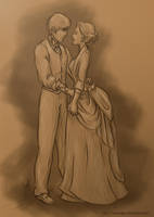 Infernal Devices: Will and Tessa by mseregon