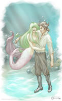 The Mermaid and the Sailor by mseregon