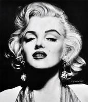 Marilyn Monroe by Mahbopoli