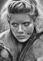 Lagertha/Vikings by Mahbopoli