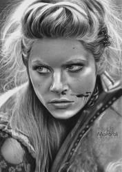 Lagertha/Vikings by Mahbopoli