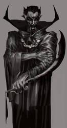 RA's Al Ghul [2013] Batman by saprophilous