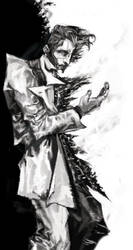 Two-Face [2013] Batman by saprophilous